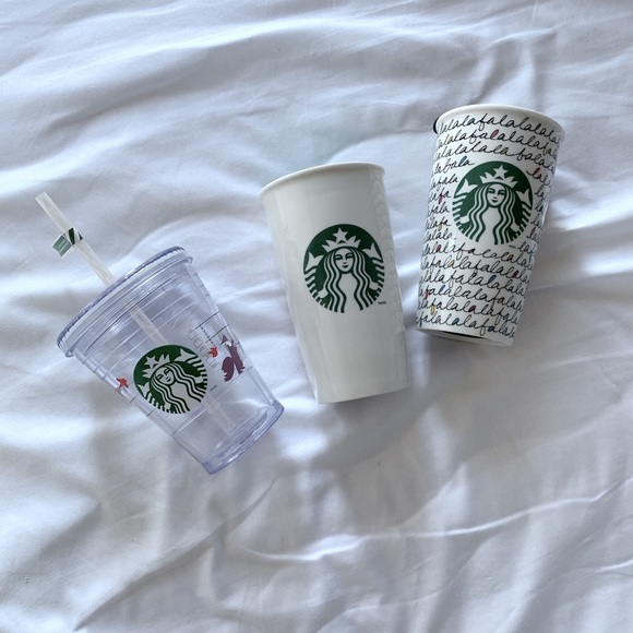 Reserved - Starbucks 3 cups package 📦